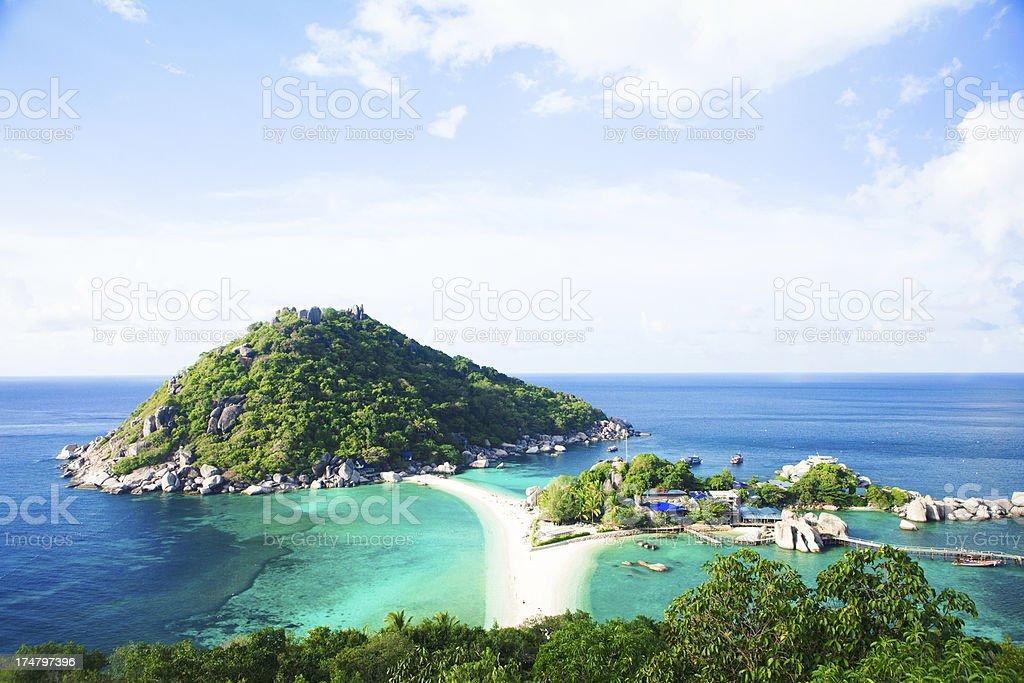 Thailand Beach Paradise - Ko Nang Yuan royalty-free stock photo