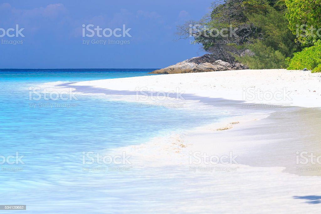 Thailand beautiful island ,sunny day stock photo