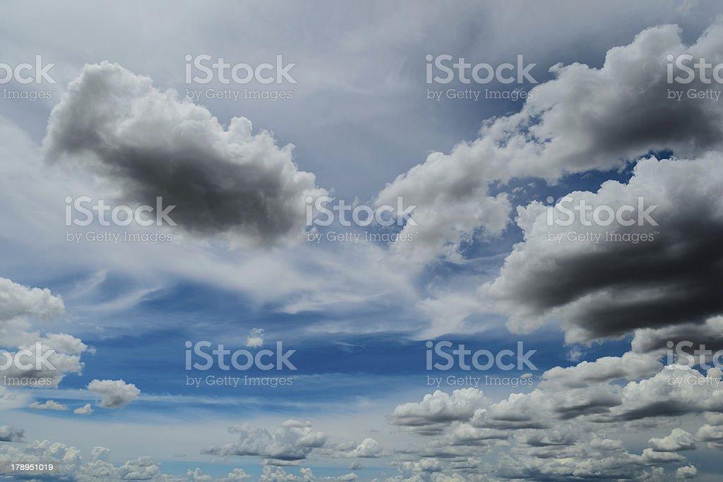 Thailand Blue Sky royalty-free stock photo