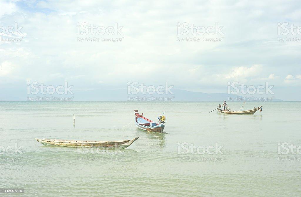 Thailand boats royalty-free stock photo