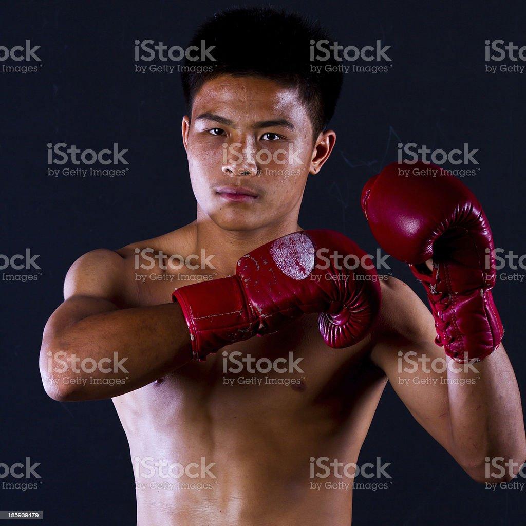 Thailand Boxing stock photo