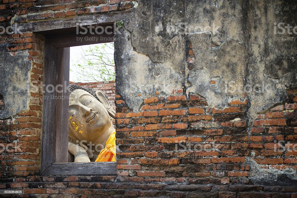 Thailand Buddha royalty-free stock photo