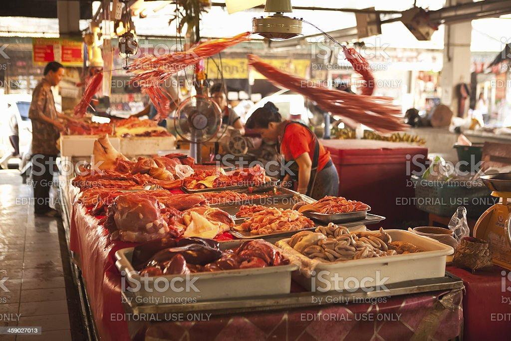 Thailand Butcher royalty-free stock photo
