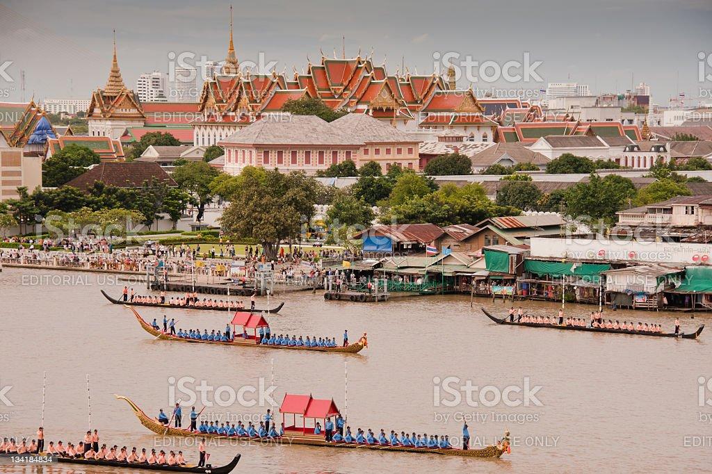 Thailand celebrates 84th birthday Of the King. royalty-free stock photo