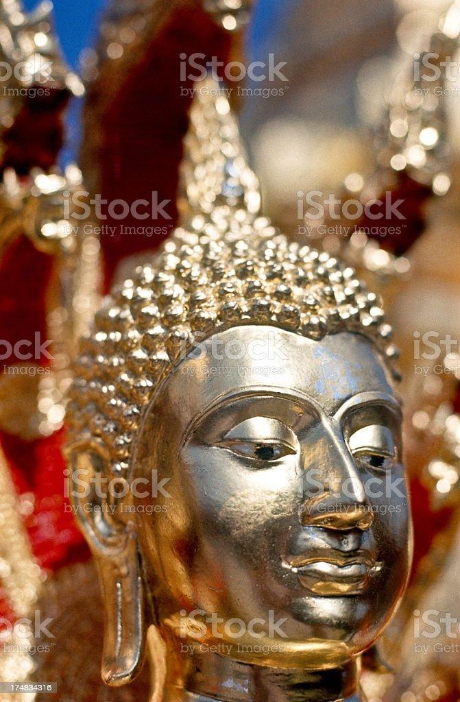 Thailand, Chiang Mai, Wat Phrathat Doi Suthep, Buddhist temple. royalty-free stock photo
