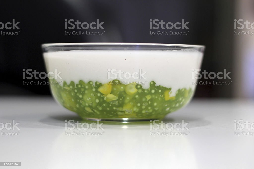 Thailand dessert. royalty-free stock photo