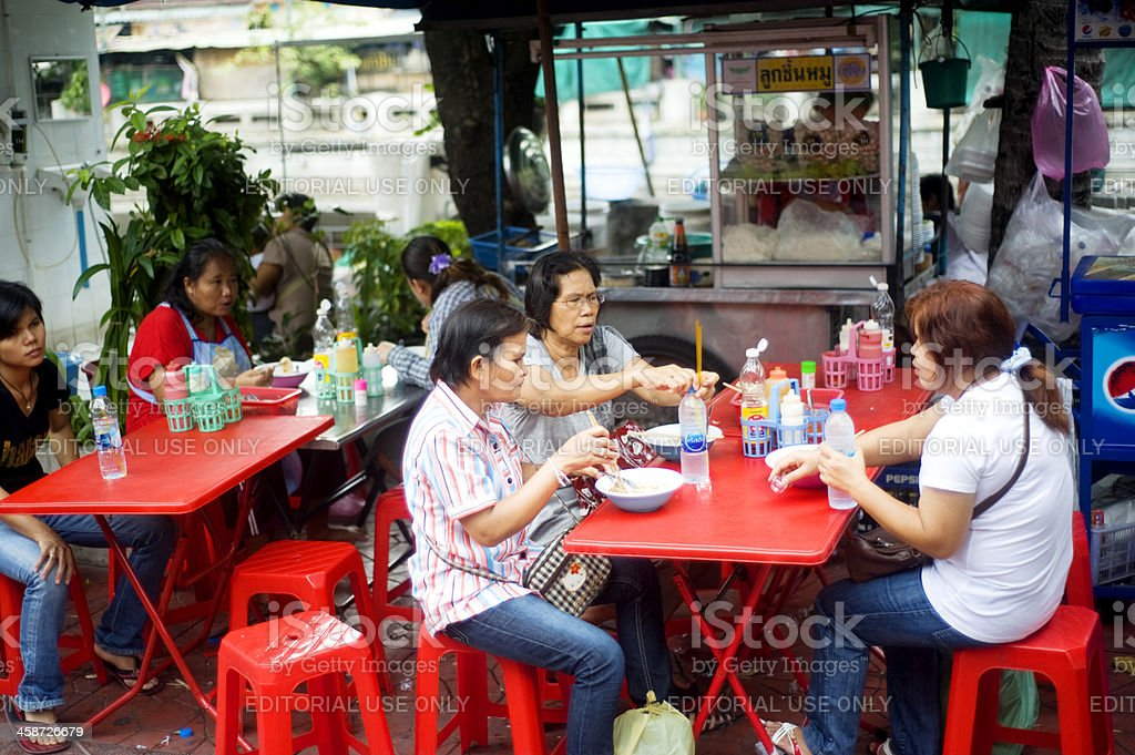 Thailand fast food royalty-free stock photo