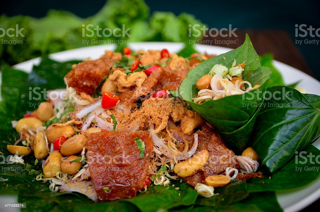 Thailand food stock photo