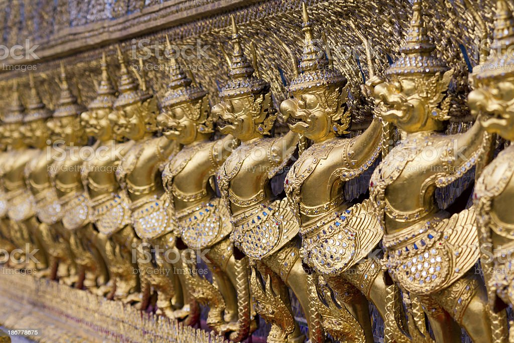 Thailand Grand Palace royalty-free stock photo