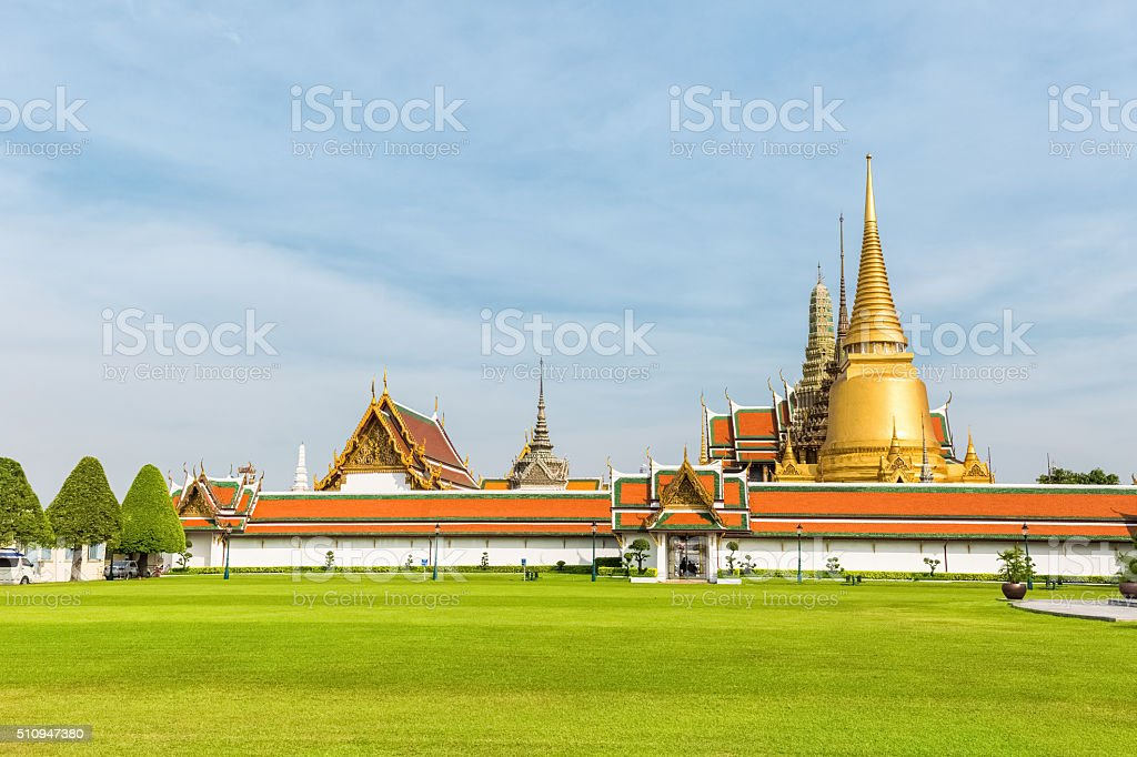 thailand grand palace stock photo