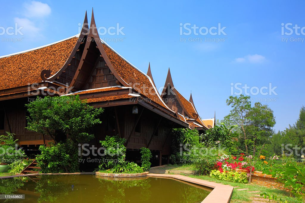 Thailand house royalty-free stock photo