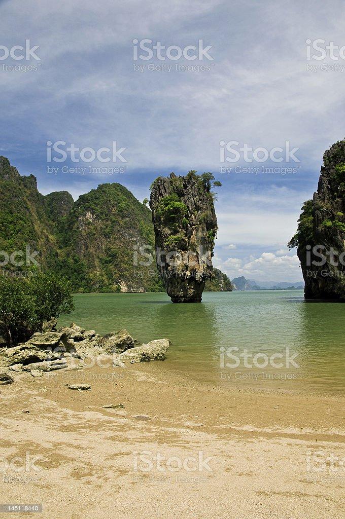 Tailândia Ilha James Bond foto royalty-free