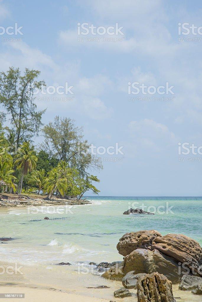 Thailand Ko Bulon beach royalty-free stock photo