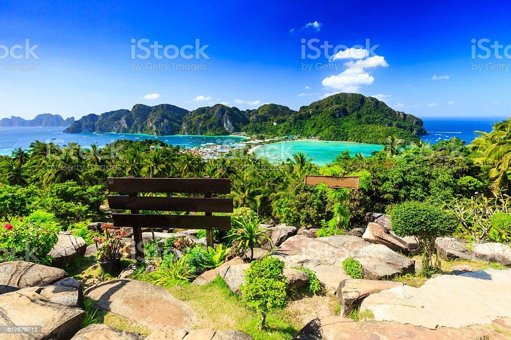 Thailand, Koh Phi Phi stock photo