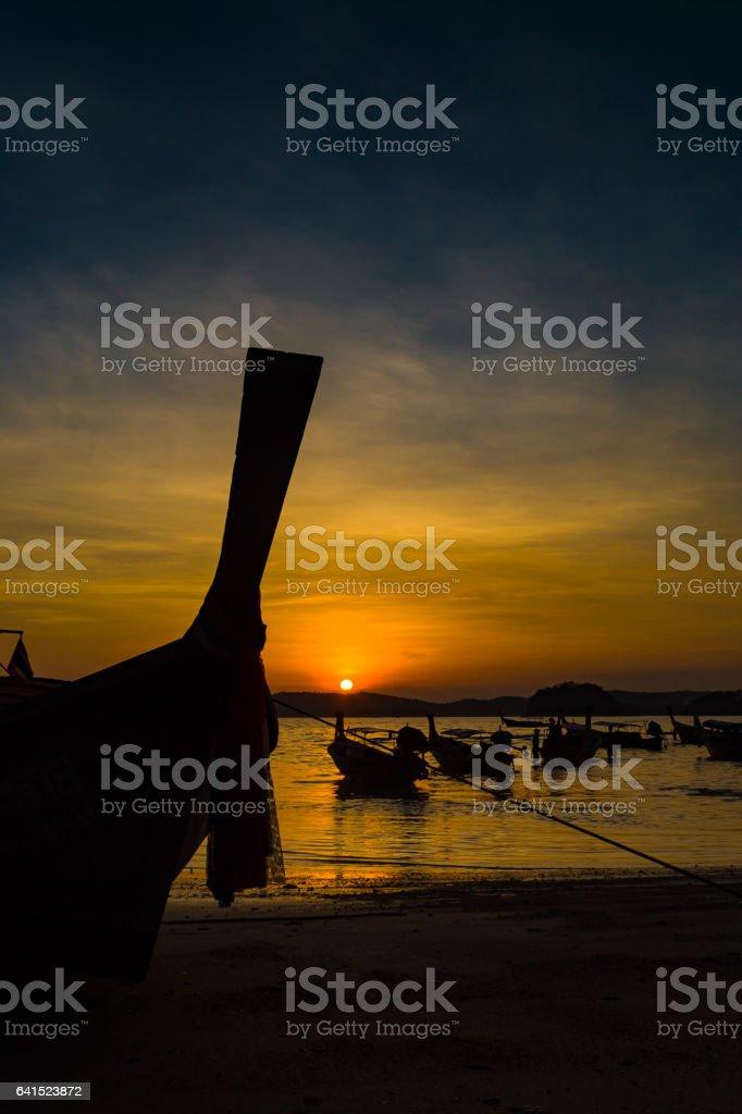 Thailand, Krabi, Ao Nang stock photo