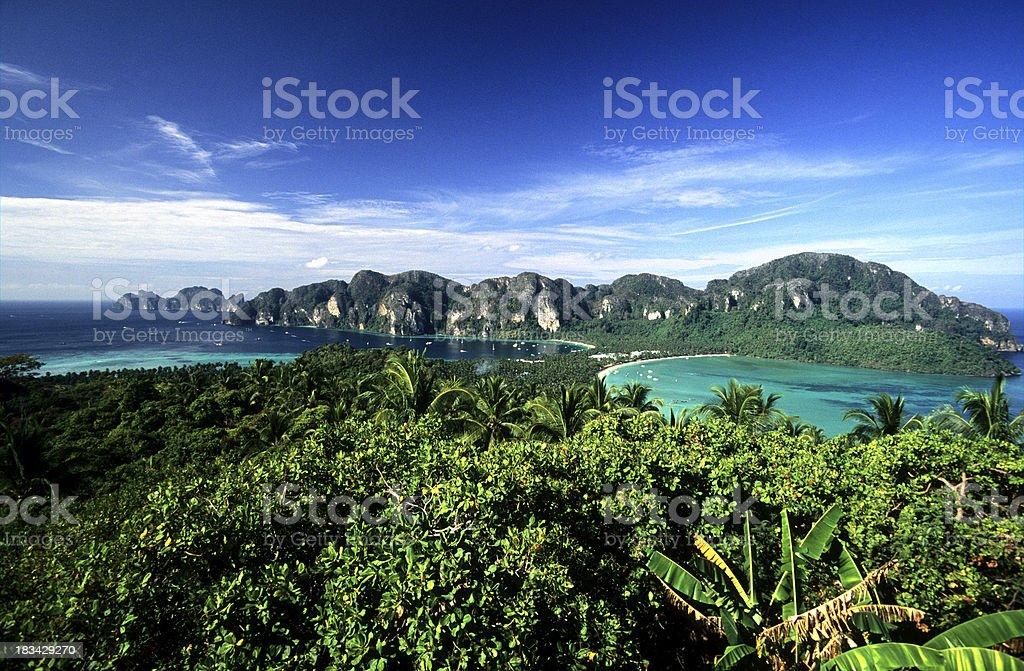Thailand, Krabi Province, Ko PhiPhi Don. stock photo