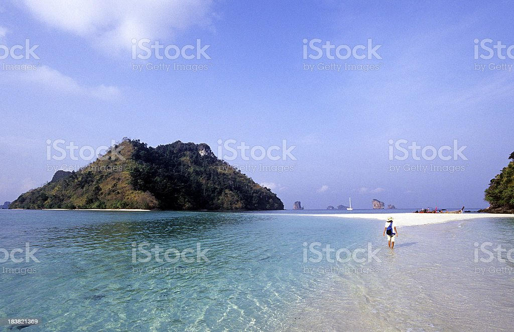 Thailand, Krabi Province, offshore islands. stock photo