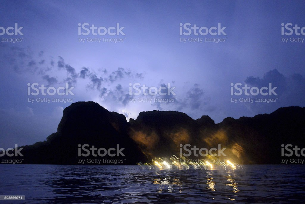 Thailand Krabi Railay Beach stock photo