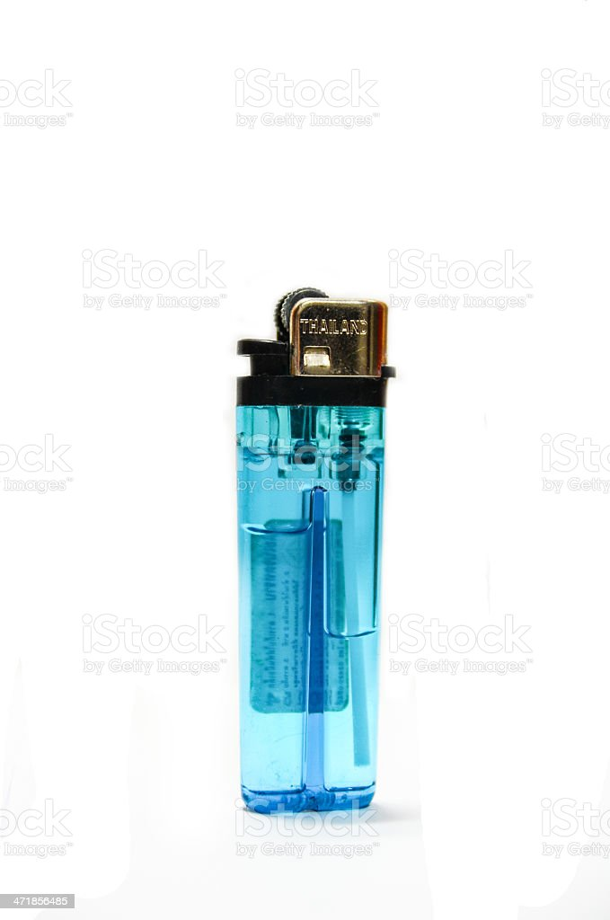 Thailand Lighter isolated on the white background royalty-free stock photo