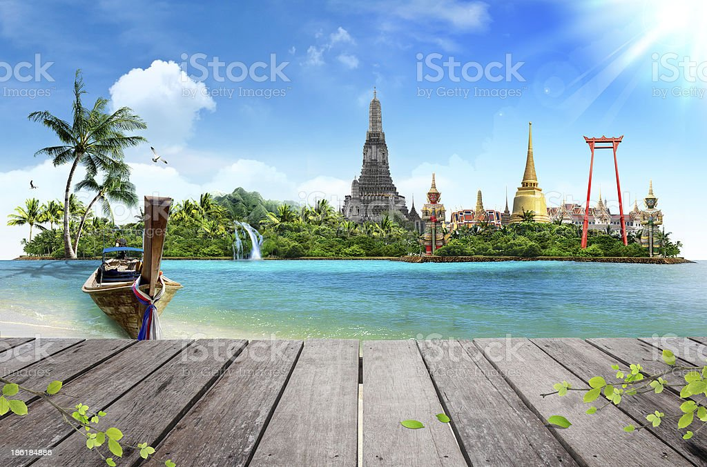 Thailand ocean landscape, concept royalty-free stock photo