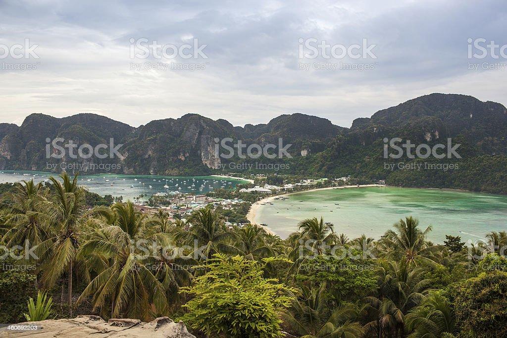 Thailand panorama stock photo