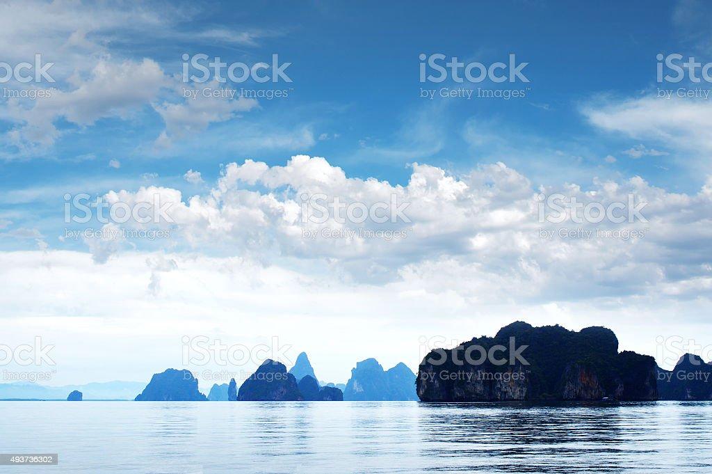 Thailand Phang Nga Bay Anadaman Sea stock photo