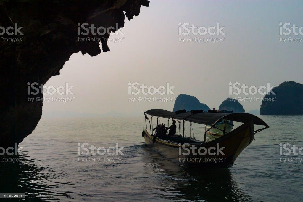 Thailand, Phang Nga, James Bond Island stock photo