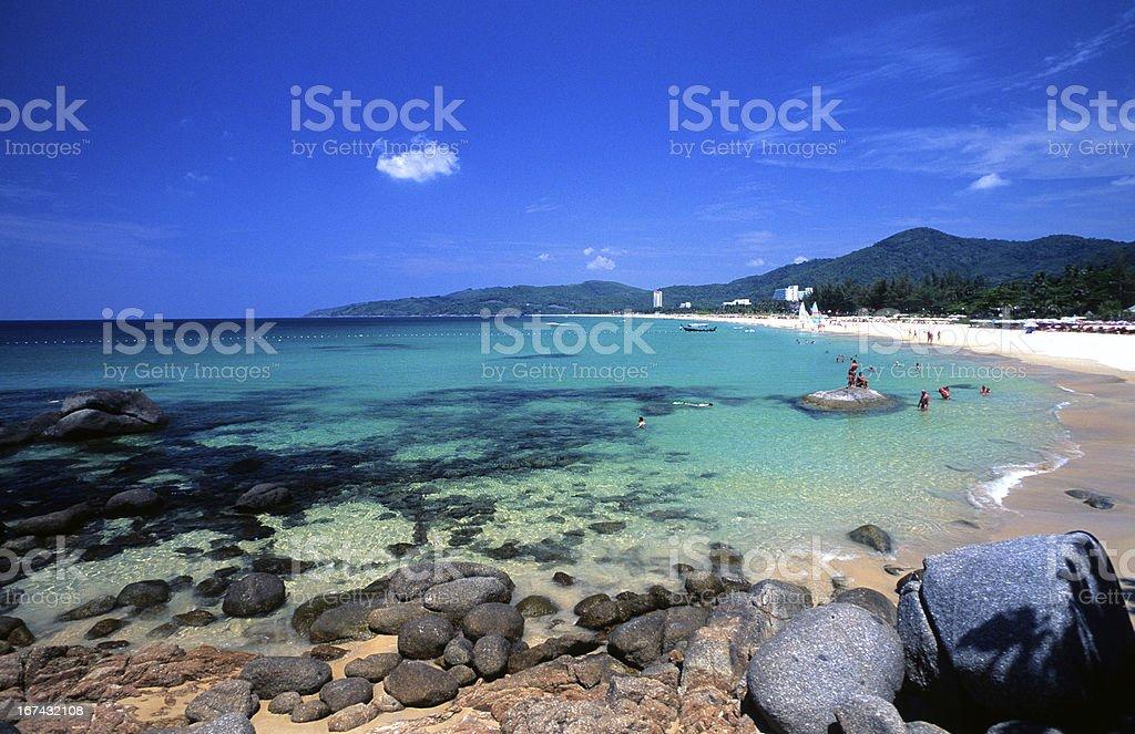 Thailand, Phuket, Kata Beach. stock photo