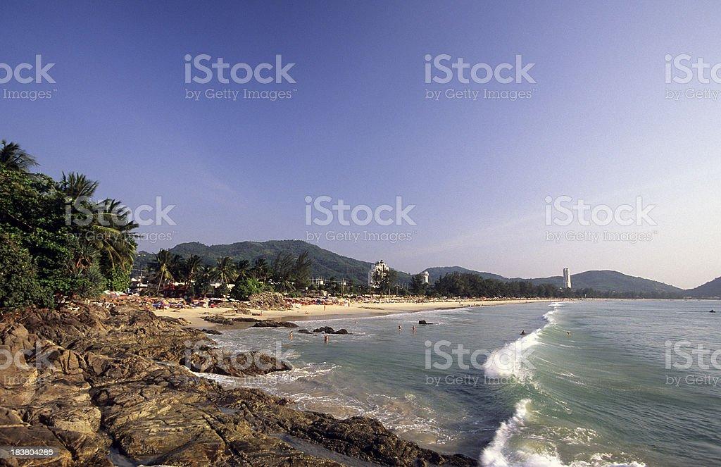 Thailand, Phuket, Patong Beach. stock photo