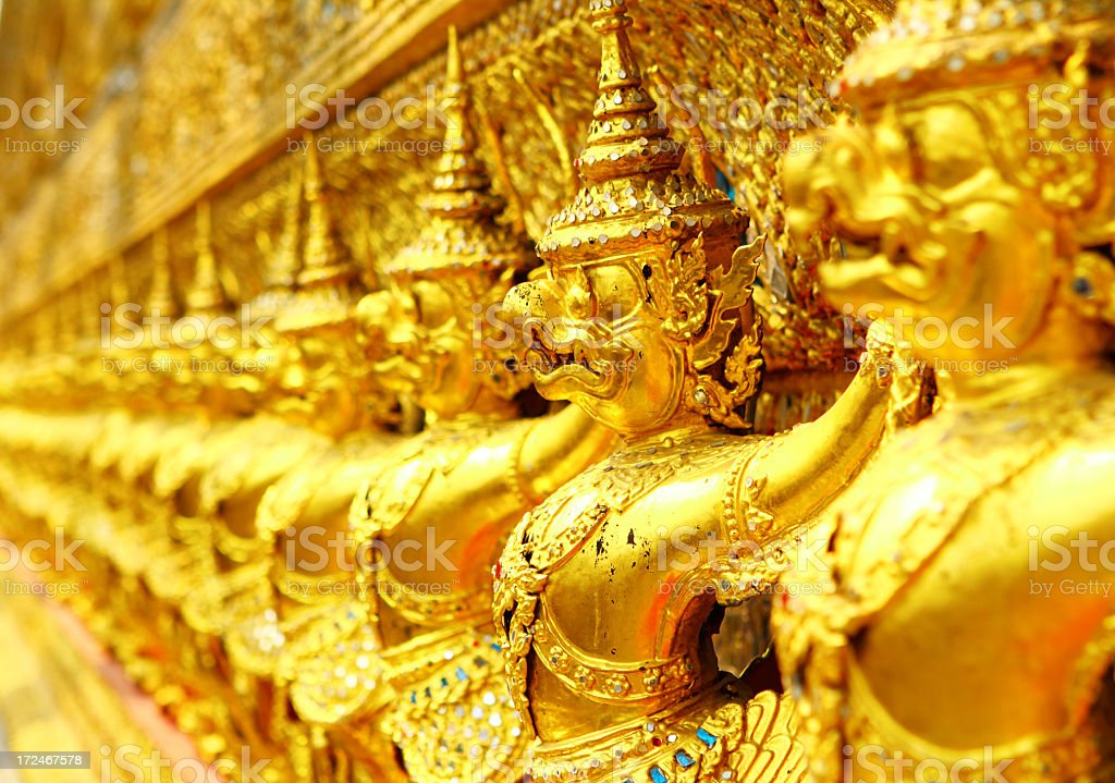 Thailand sculpture royalty-free stock photo
