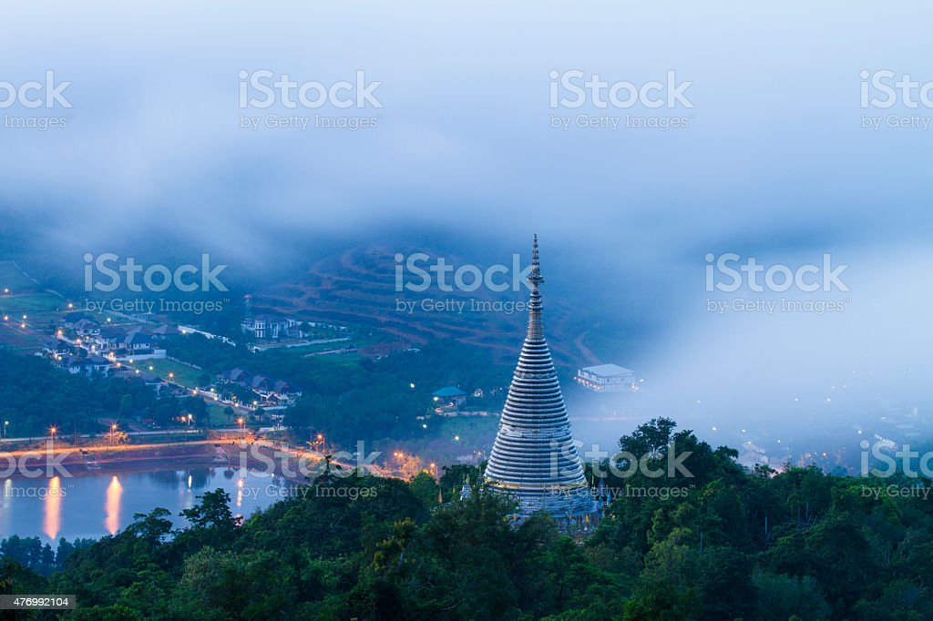 Thailand Stainless Temple stock photo