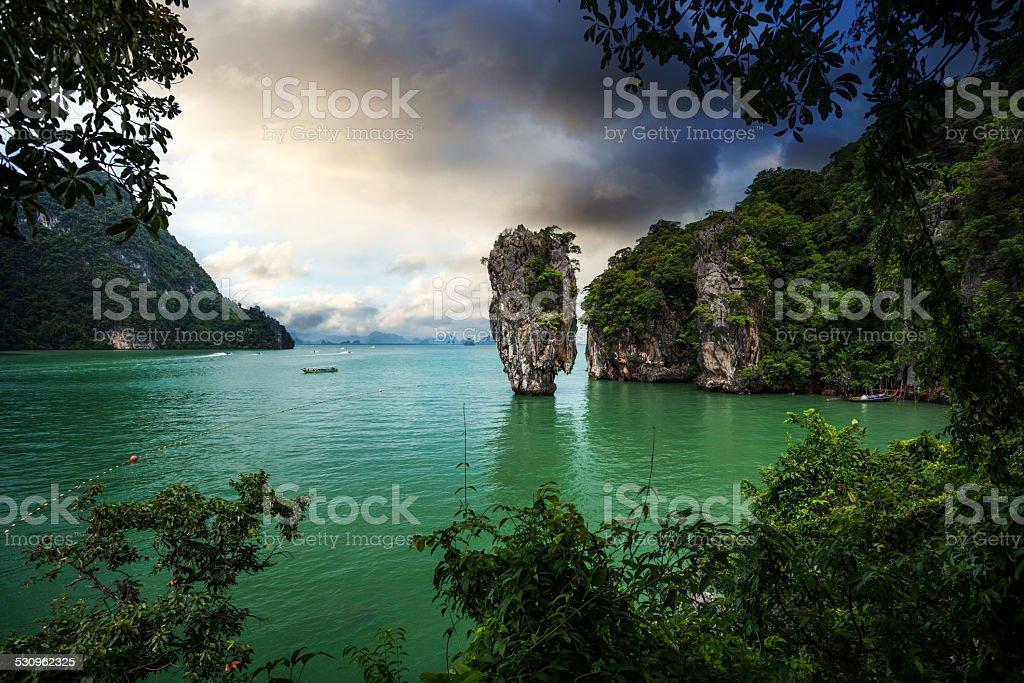 Thailand travel, islands stock photo