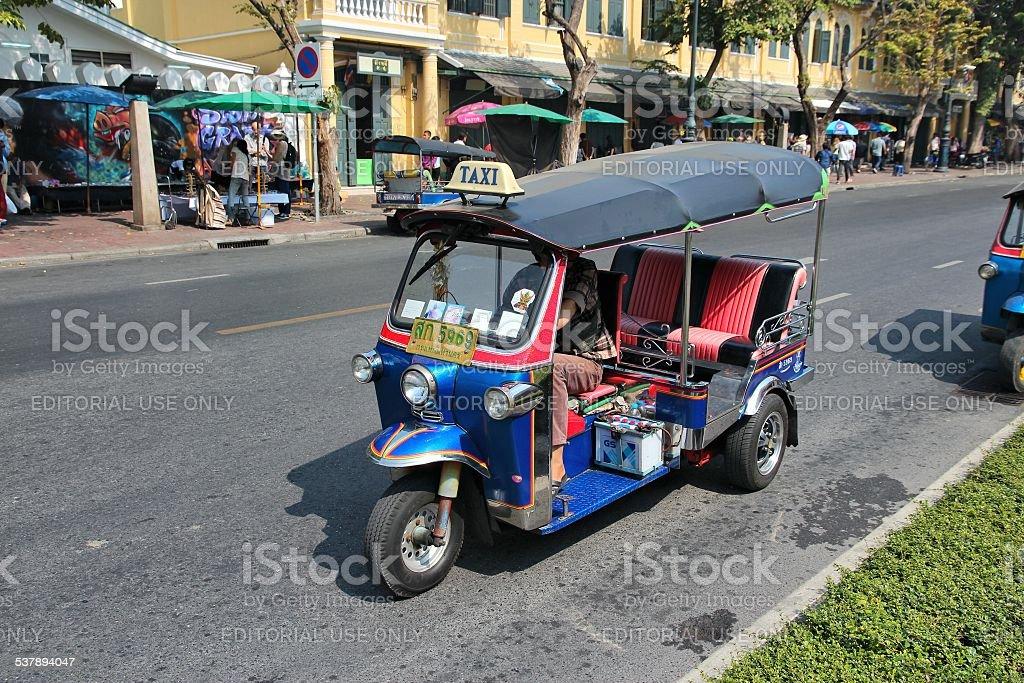 Thailand tuktuk stock photo
