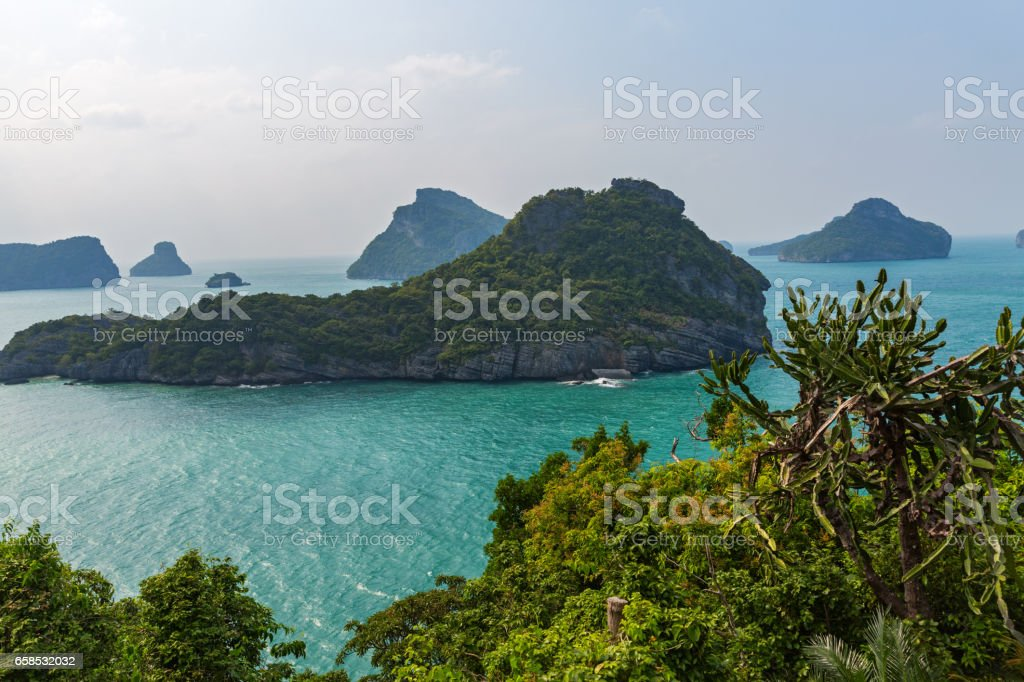 Thailand, view of the sea stock photo