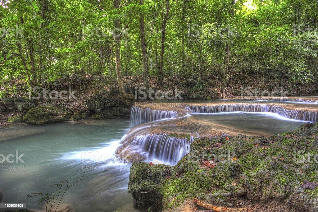 Thailand waterfall stock photo