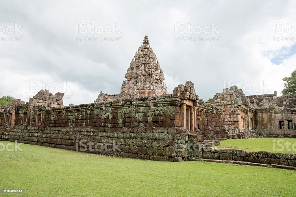 Thailand,Khao Phanom Rung castle stock photo