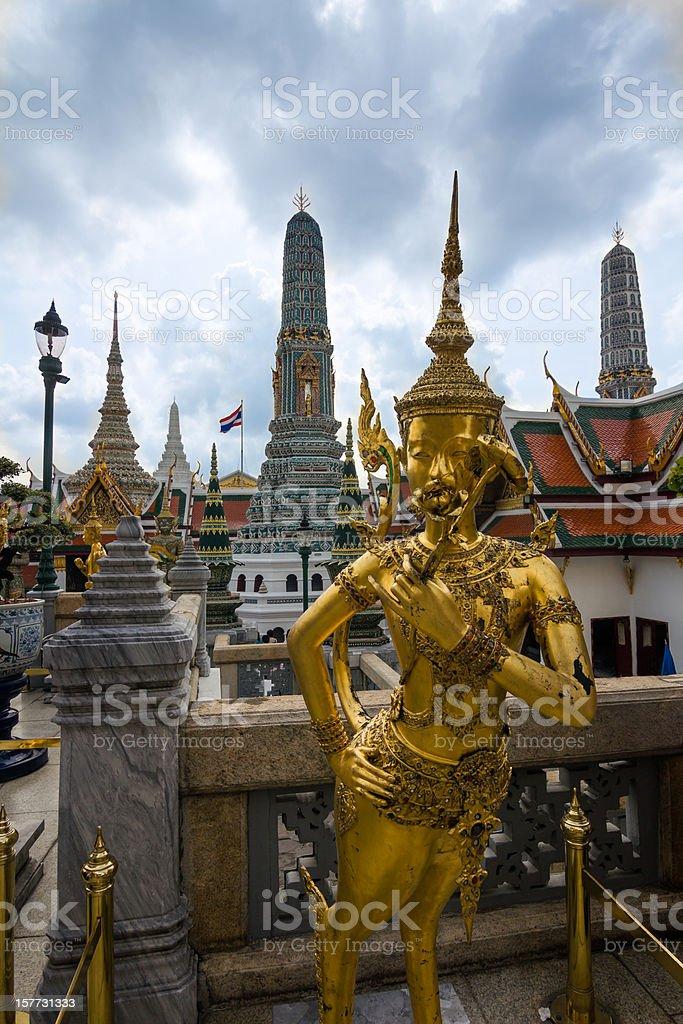 Thailand's Grand Palace royalty-free stock photo