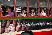 Thais on Bangkok bus