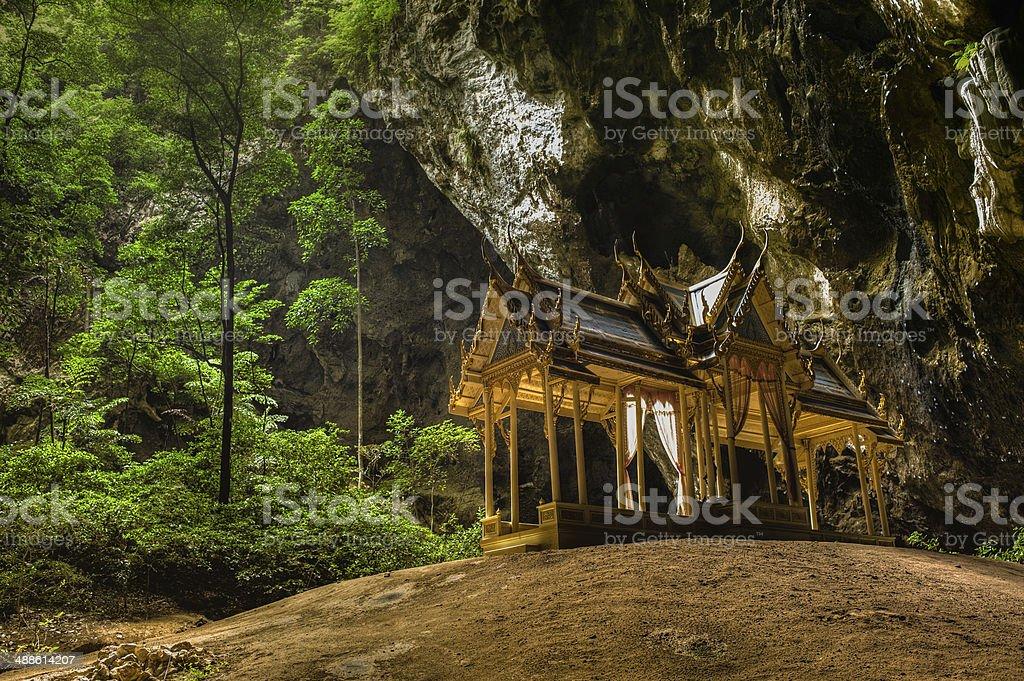Tham Phraya Nakhon Cave in Prachuap Province, Thailand stock photo