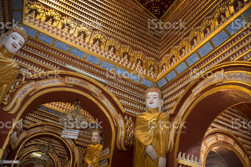 Thambuddhei Paya - Monywa - Myanmar stock photo