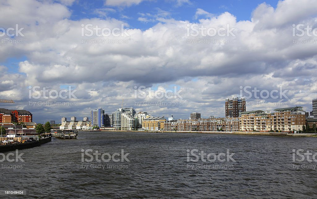 Thames royalty-free stock photo