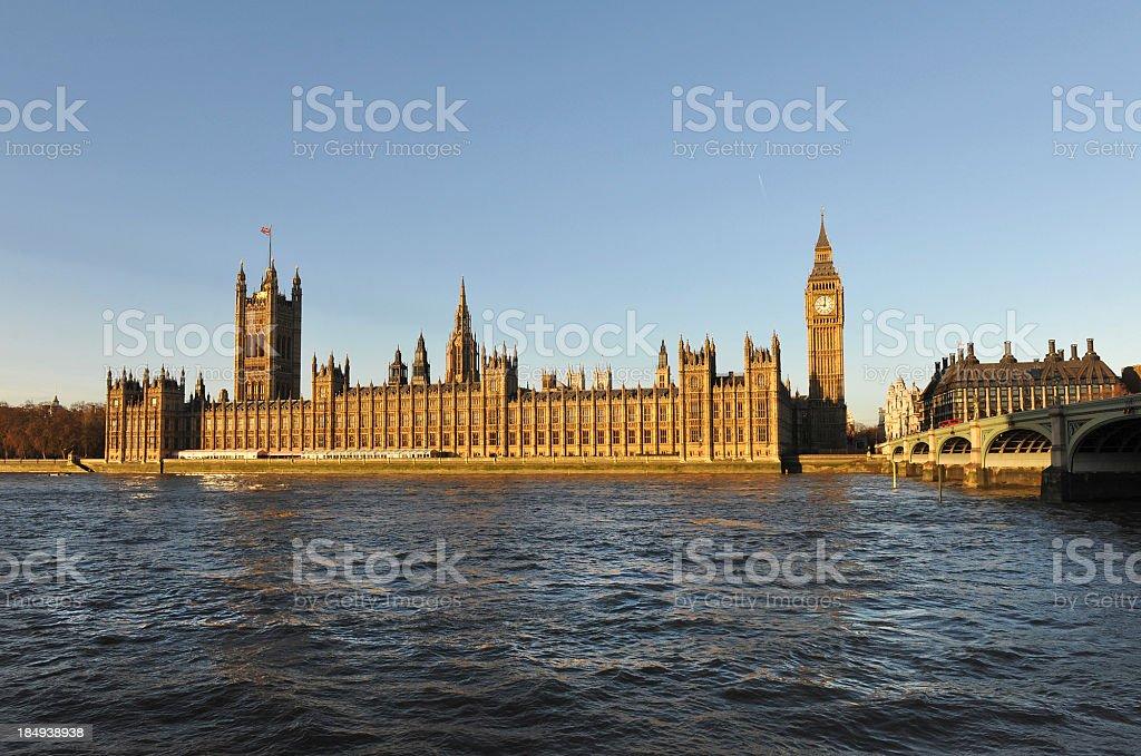 Thames royalty-free stock photo