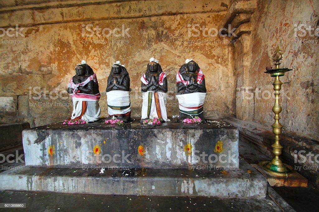 Thanjavur Brihadeshwara Temple,TamilNadu. India.Asia.Majestic.Gopuram stock photo