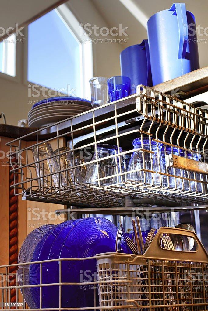 Thank goodness for dishwashers! royalty-free stock photo