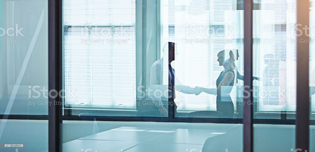 Thank you for going the extra mile at work stock photo