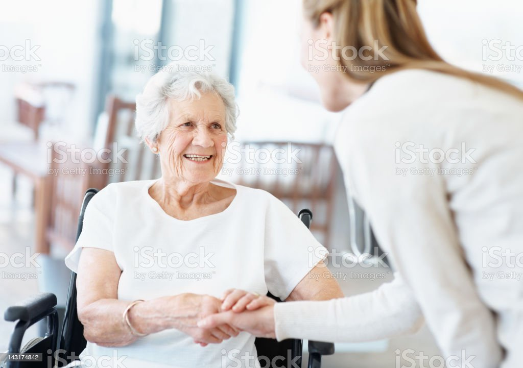Thank you for taking care of me stock photo