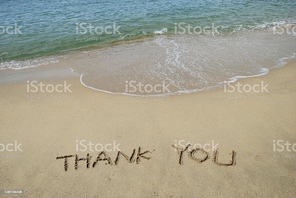 Thank You stock photo