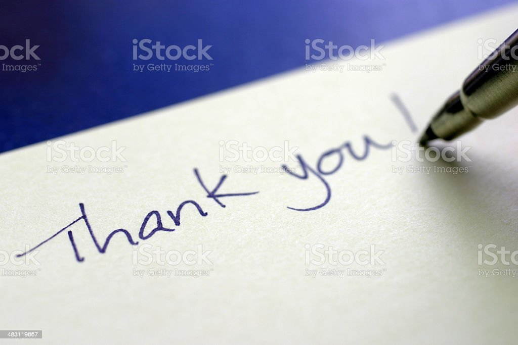 Thank You! royalty-free stock photo