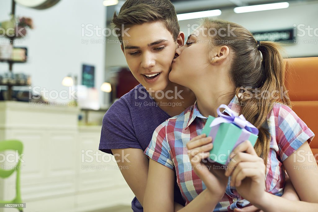 Thank you, sweetie royalty-free stock photo