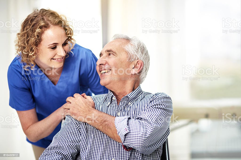 Thanks for taking such great care of me stock photo